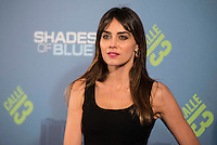 "Irene Arcos attends to the premiere of the new series of chanel Calle 13, ""Shades of Blue"" at Callao Cinemas in Madrid. April 05, 2016. (ALTERPHOTOS/Borja B.Hojas) /NortePhoto.com"