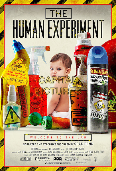 POSTER ART<br /> in The Human Experiment (2013) <br /> *Filmstill - Editorial Use Only*<br /> CAP/NFS<br /> Image supplied by Capital Pictures