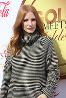06 January 2018 - West Hollywood, California - Jessica Chastain. 5th Anniversary &ldquo;Gold Meets Golden&rdquo; event held at The House on Sunset. 2018 Gold Meet Golden is a Hollywood Send-Off to the athletes competing in the upcoming PyeongChang Winter Games, with a special focus on Empowering Women in Hollywood &amp; Sport. <br /> CAP/ADM/FS<br /> &copy;FS/ADM/Capital Pictures
