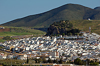 View of village, Andalusia, Spain.