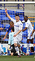 Jake Cassidy of Tranmere celebrates scoring their first goal. - Tranmere Rovers v Stevenage - npower League 1 - Prenton Park, Tranmere - 6th April, 2012 . © Kevin Coleman 2012