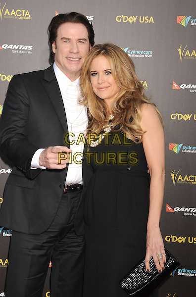 LOS ANGELES, CA - JANUARY 31: Actors John Travolta and Kelly Preston attend the 2015 G'Day USA Gala featuring the AACTA International Awards presented by Qantas at Hollywood Palladium on January 31, 2015 in Los Angeles, California.<br /> CAP/ROT/TM<br /> &copy;TM/ROT/Capital Pictures