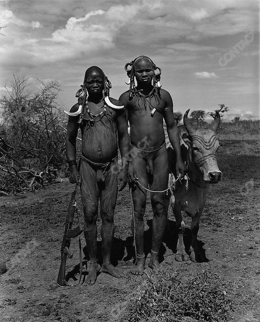 Mursi tribe, Omo Valley, southern Ethiopia, 2003-2004
