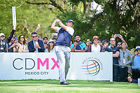Phil Mickelson (USA) watches his tee shot on 6 during round 4 of the World Golf Championships, Mexico, Club De Golf Chapultepec, Mexico City, Mexico. 3/5/2017.<br /> Picture: Golffile | Ken Murray<br /> <br /> <br /> All photo usage must carry mandatory copyright credit (&copy; Golffile | Ken Murray)