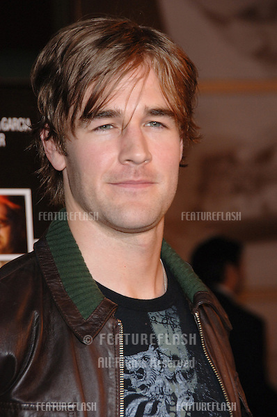 Actor JAMES VAN DER BEEK at the Los Angeles premiere of his new movie Standing Still..April 10, 2006 Los Angeles, CA.© 2006 Paul Smith / Featureflash