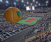 2011-02-07, Tennis, Rotterdam, ABNAMROWTT,  Overzichten, arena