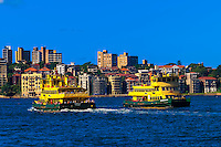 Ferries, Sydney Harbor, Sydney, New South Wales, Australia