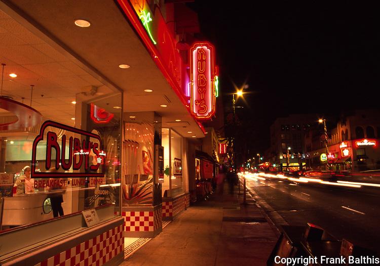 Ruby's Restaurant on Colorado Blvd.
