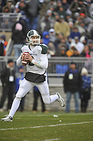 27 November 2010:  Michigan State QB Kirk Cousins (8)..The Michigan State Spartans defeated the Penn State Nittany Lions 28-22 to win the Land Grant Trophy at Beaver Stadium in State College, PA..