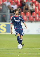 12 September 2012: Chicago Fire defender Arne Friedrich #23 in action during an MLS game between the Chicago Fire and Toronto FC at BMO Field in Toronto, Ontario..The Chicago Fire won 2-1..