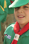 Christmas in Bethlehem, a Boy Scout in Manger Square