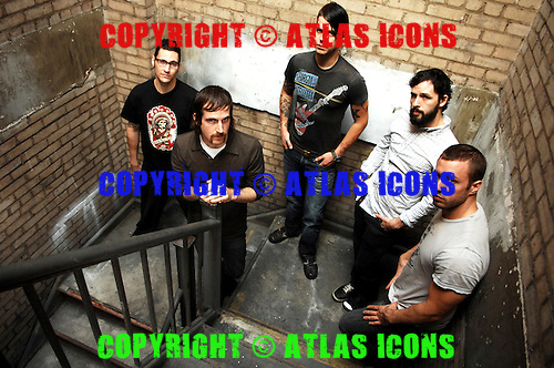 THE DILLINGER ESCAPE PLAN; Studio Portrait Session, .In New York City, 2007.Photo Credit: Eddie Malluk/Atlas Icons.com