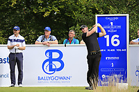Scott Henry (SCO) tees off the 16th tee during Sunday's Final Round of the Northern Ireland Open 2018 presented by Modest Golf held at Galgorm Castle Golf Club, Ballymena, Northern Ireland. 19th August 2018.<br /> Picture: Eoin Clarke | Golffile<br /> <br /> <br /> All photos usage must carry mandatory copyright credit (&copy; Golffile | Eoin Clarke)