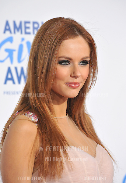 Miss USA Alyssa Campanella at the American Giving Awards at the Dorothy Chandler Pavilion in Los Angeles..December 9, 2011  Los Angeles, CA.Picture: Paul Smith / Featureflash