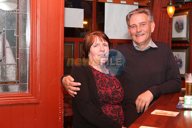 Christopher Finglas and Jackie Kerr in O'Caseys...(Photo Jenny Matthews/www.newsfile.ie)