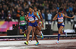 Phyllis FRANCIS (USA) wins the womens 400m final. IAAF world athletics championships. London Olympic stadium. Queen Elizabeth Olympic park. Stratford. London. UK. 09/08/2017. ~ MANDATORY CREDIT Garry Bowden/SIPPA - NO UNAUTHORISED USE - +44 7837 394578.