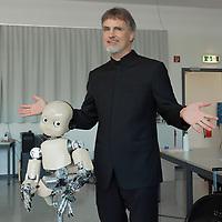 Switzerland 2020 - Jürgen Schmidhuber. IDSIA. iCub Robot
