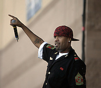 LOS ANGELES,CA - AUGUST 09,2008: Redman performs at Rock the Bells concert. Glen Helen Pavilion was filled with hip hop fans August 9, 2008 for Rock the Bells concert.