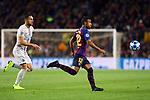 UEFA Champions League 2018/2019 - Matchday 3.<br /> FC Barcelona vs FC Internazionale Milano: 2-0.<br /> Danilo D'Ambrosio vs Rafinha.