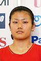 Reika Kakiiwa (JPN), .June 9, 2012 - Badminton : .Badminton Japan National Team Send-off Ceremony for the London Olympics 2012 .in Tokyo, Japan. .(Photo by Daiju Kitamura/AFLO SPORT) [1045]