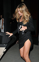 Abbey Clancy at the Nobu Hotel Shoreditch official launch party, Nobu Hotel Shoreditch, Willow Street, London, England, UK, on Tuesday 15 May 2018.<br /> CAP/CAN<br /> &copy;CAN/Capital Pictures