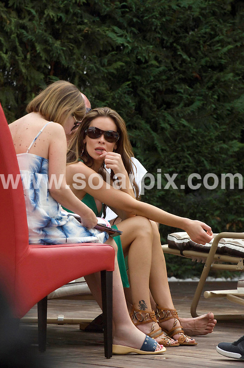 **ALL ROUND EXCLUSIVE PICTURES FROM SOLARPIX.COM**.**WORLDWIDE SYNDICATION RIGHTS**.Jo-Emma Lavin, ex-wife of boxer Joe Calzaghe, relaxes on a short break in Marbella, Spain. 1 October 2009. .This pic: Jo-Emma Lavin..JOB REF: 10068 JGS        DATE: 01_01_2009.**MUST CREDIT SOLARPIX.COM OR DOUBLE FEE WILL BE CHARGED**.**MUST AGREE FEE BEFORE ONLINE USAGE**.**CALL US ON: +34 952 811 768 or LOW RATE FROM UK 0844 617 7637**