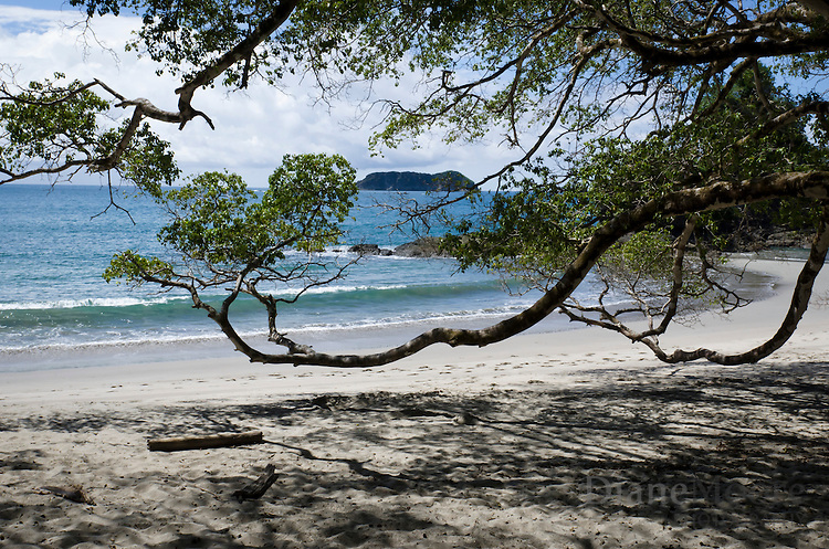 Scenic view of Manuel Antonio Beach