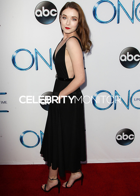 HOLLYWOOD, LOS ANGELES, CA, USA - SEPTEMBER 21: Sarah Bolger arrives at the Los Angeles Screening Of ABC's 'Once Upon A Time' Season 4 held at the El Capitan Theatre on September 21, 2014 in Hollywood, Los Angeles, California, United States. (Photo by Celebrity Monitor)