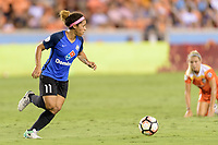 Houston, TX - Sunday August 13, 2017:  Desiree Scott during a regular season National Women's Soccer League (NWSL) match between the Houston Dash and FC Kansas City at BBVA Compass Stadium.