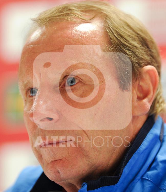 08.10.2010, Ernst Happel Stadion, Wien, AUT, UEFA 2012 Qualifiers, Austria vs Azerbaidschan, im Bild Berti Vogts, (Team Azerbaijan, Headcoach), ernst, EXPA Pictures 2010, PhotoCredit: EXPA/ S. Trimmel