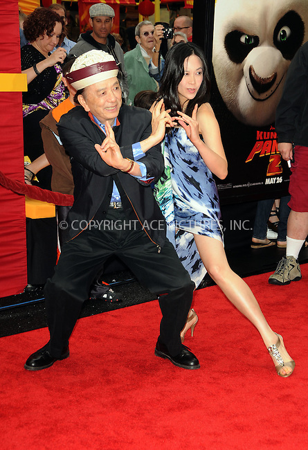 WWW.ACEPIXS.COM . . . . .  ....May 22 2011, LA....Actor James Hong arriving at the premiere of  'Kung Fu Panda 2' at Mann's Chinese Theatre on May 22, 2011 in Hollywood, California....Please byline: PETER WEST - ACE PICTURES.... *** ***..Ace Pictures, Inc:  ..Philip Vaughan (212) 243-8787 or (646) 679 0430..e-mail: info@acepixs.com..web: http://www.acepixs.com