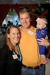 Allison and Bond Hopkins with Hadley at the Little Galleria Halloween Spooktacular presented by MD Anderson Children's Cancer Hospital at The Galleria Sunday Oct. 30,2016.(Dave Rossman photo)