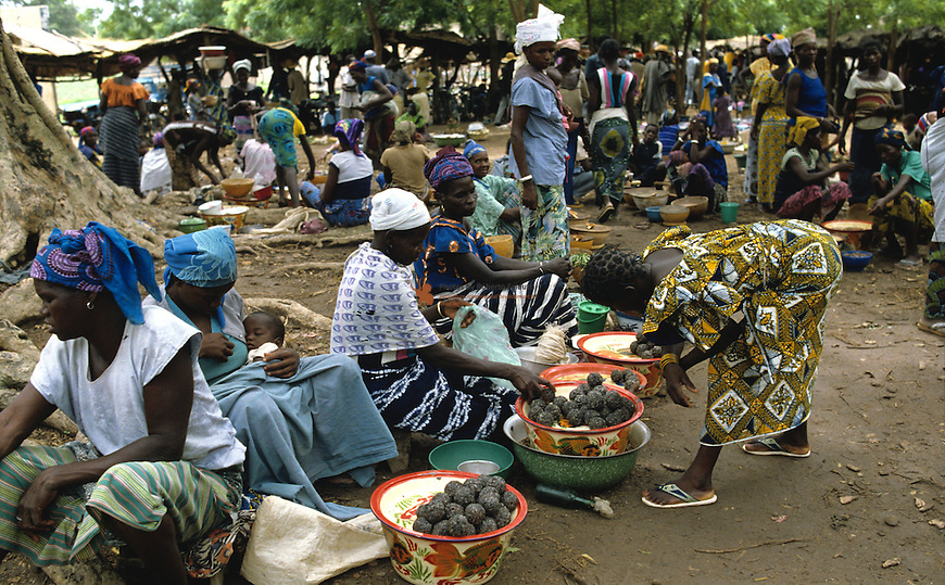 Sumbara is a traditional  West Africa seasoning based on fermented seeds of the tree Parkia biglogosa