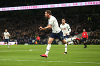 Tottenham Hotspur's Jan Vertonghen celebrates scoring his side's first goal <br /> <br /> Photographer Rob Newell/CameraSport<br /> <br /> The Emirates FA Cup Fifth Round - Tottenham Hotspur v Norwich City - Wednesday 4th March 2020 - Tottenham Hotspur Stadium - London<br />  <br /> World Copyright © 2020 CameraSport. All rights reserved. 43 Linden Ave. Countesthorpe. Leicester. England. LE8 5PG - Tel: +44 (0) 116 277 4147 - admin@camerasport.com - www.camerasport.com