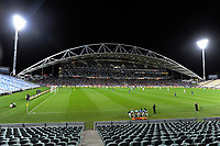 A general view of the first leg of FIFA World Cup Russia 2018 qualifying football match between the New Zealand All Whites and Solomon Islands at QBE Stadium in Albany, New Zealand on Friday, 1 September 2017. Photo: Dave Lintott / lintottphoto.co.nz