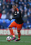 Leon Clarke of Sheffield Utd during the FA Cup Second round match at the Macron Stadium, Bolton. Picture date: December 4th, 2016. Pic Simon Bellis/Sportimage