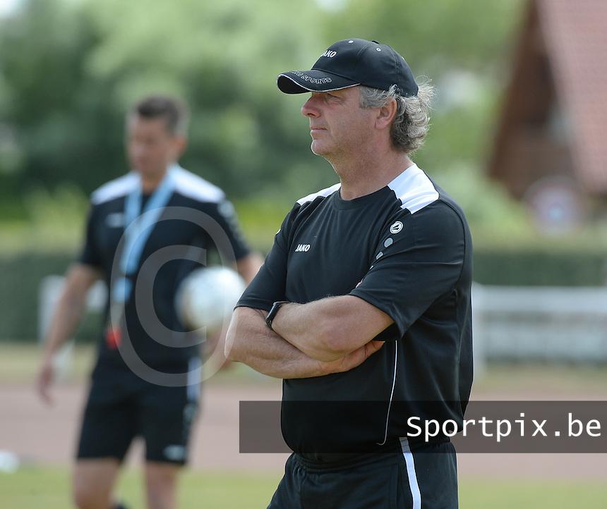 KV Kortrijk Stage Berck sur Mer : training met Gino Caen<br /> foto VDB / BART VANDENBROUCKE