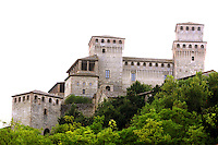 Exterior view of the Castle of Torrechiara.<br /> UPDATE IMAGES PRESS/Riccardo De Luca