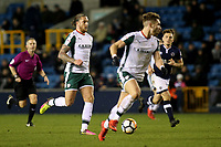 George Moncur of Barnsley in action during Millwall vs Barnsley, Emirates FA Cup Football at The Den on 6th January 2018