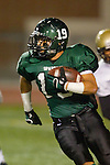 Torrance, CA 10/06/11 - Brandon Loera (South Torrance #19) in action during the Peninsula vs South Varsity football game.