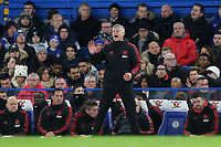 Manchester United Caretaker Manager, Ole Gunnar Solskjaer during Chelsea vs Manchester United, Emirates FA Cup Football at Stamford Bridge on 18th February 2019