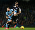 Michael Williamson of Newcastle United - Barclays Premier League - Manchester City vs Newcastle Utd - Etihad Stadium - Manchester - England - 21st February 2015 - Picture Simon Bellis/Sportimage