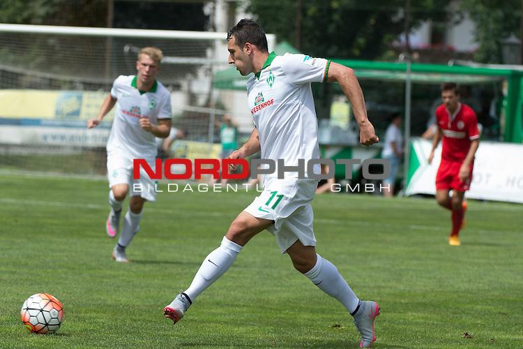 18.07.2015, Parkstadion, Zell am Ziller, AUT FSP, FC Zbrojovka Bruenn vs Werder Bremen, im Bild<br /> <br /> <br /> Foto &copy; nordphoto / Kokenge