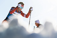 1st January 2020, Toblach, South Tyrol , Italy;  Denis Spitsov of Russia competes in the mens 15 km classic technique pursuit during Tour de Ski on January 1, 2020 in Toblach.