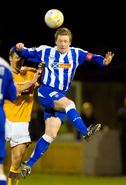 Gary Locke, Kilmarnock.stock season 2006-2007.pic willie vass
