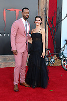 """LOS ANGELES - AUG 26:  Isaiah Mustafa, Guest at the """"It Chapter Two"""" Premiere at the Village Theater on August 26, 2019 in Westwood, CA"""