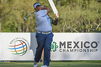 Kiradech Aphibarnrat (THA) watches his tee shot on 18 during round 3 of the World Golf Championships, Mexico, Club De Golf Chapultepec, Mexico City, Mexico. 3/3/2018.<br /> Picture: Golffile | Ken Murray<br /> <br /> <br /> All photo usage must carry mandatory copyright credit (&copy; Golffile | Ken Murray)