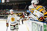 Stockholm 2013-12-07 Ishockey Elitserien AIK - Skellefte&aring; AIK :  <br /> Skellefte&aring;s Joakim Lindstr&ouml;m har gjort 1-0 och gratuleras av lagkamrater<br /> (Foto: Kenta J&ouml;nsson) Nyckelord:  AIK Skellefte&aring; SAIK jubel gl&auml;dje lycka glad happy