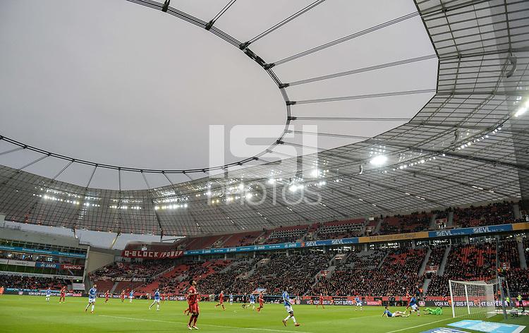 Football : Germany -1. Bundesliga  2017/18 <br /> Bayer Leverkusen 04 vs Mainz <br /> 28/01/2018 - gernal view BayArena *** Local Caption *** &copy; pixathlon<br /> Contact: +49-40-22 63 02 60 , info@pixathlon.de