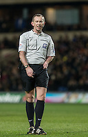 Referee Keith Hill during the Sky Bet League 2 match between Oxford United and Northampton Town at the Kassam Stadium, Oxford, England on 16 February 2016. Photo by Andy Rowland.